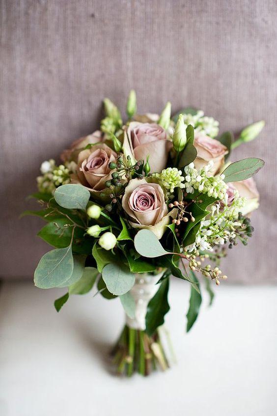 Dusty pink bouquet